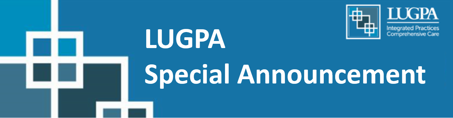 LUGPA Update Banner